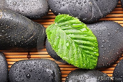 Zen or spa stones