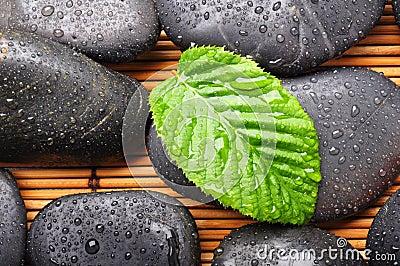 Zen or spa stones