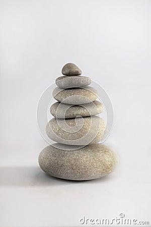 Zen stone tower
