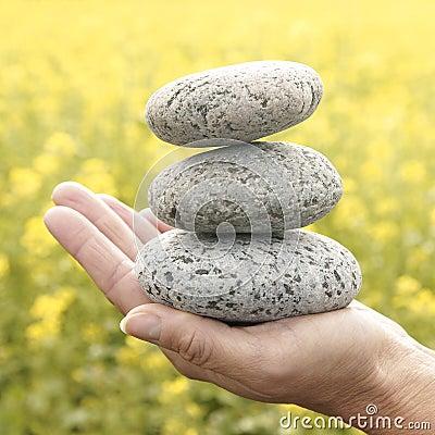 Free Zen Stones Stock Photography - 11482822