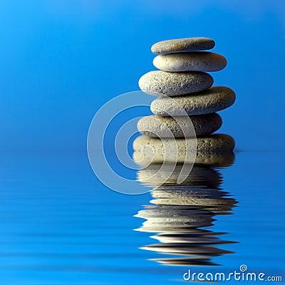 Free Zen Stones Royalty Free Stock Photos - 2531728