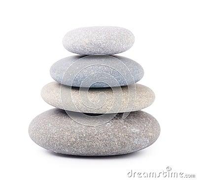 Free Zen Stones Royalty Free Stock Photo - 27120275