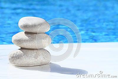 Zen stones pyramid