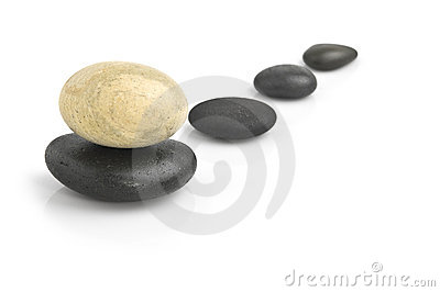 Zen stones, spa background