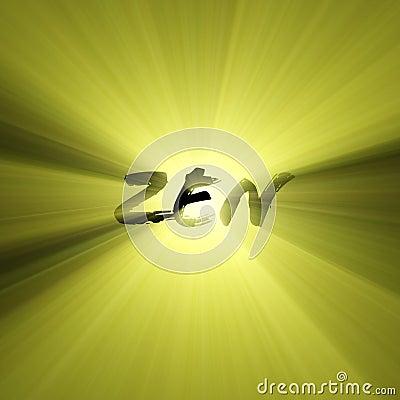 Free Zen Word Sun Light Flare Stock Images - 3130404
