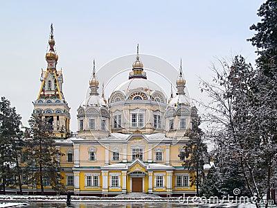 Zenkov Cathedral in Almaty