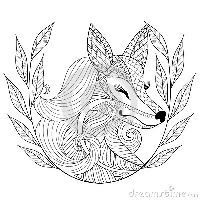red fox coloring pages - british cartoon characters wiring source