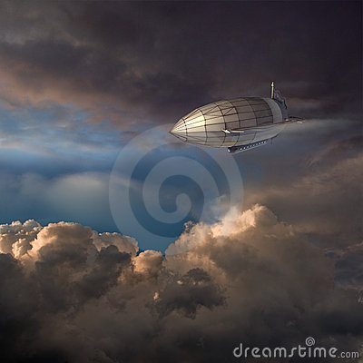 Free Zeppelin Royalty Free Stock Images - 23033129