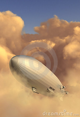 Free Zeppelin Royalty Free Stock Photos - 9420848