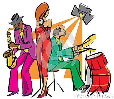 Zespołu jazz