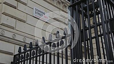 Zestrzelać ulicznego drogowego znaka, Londyn, Anglia, uk zbiory
