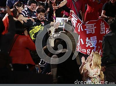 ZHANG Jike ( CHN ) Editorial Photo