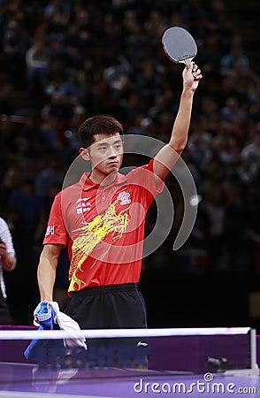 ZHANG Jike ( CHN ) Editorial Stock Photo