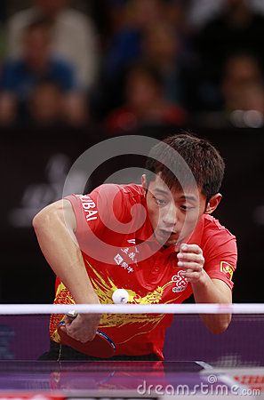 ZHANG Jike ( CHN ) Editorial Stock Image