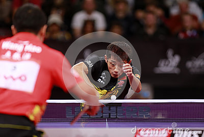 ZHANG Jike ( CHN ) Editorial Photo