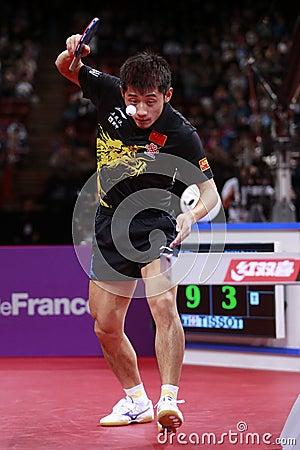 ZHANG Jike ( CHN ) Editorial Stock Image