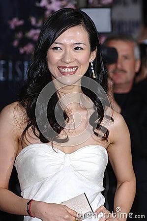 Zhang Ziyi Editorial Photo