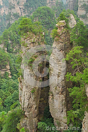 Zhangjiajie mountain