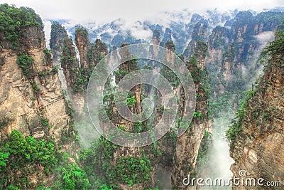 Zhangjiajie National Park, Avatar Hallelujah Mount