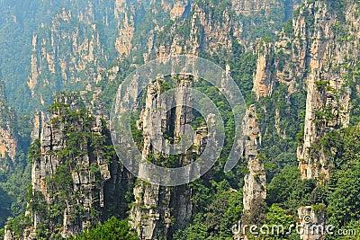 Zhangjiajie natural scenery