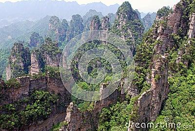 Zhangjiajie reserve