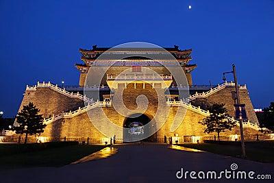 Zhengyangmen Gate in Beijing, China