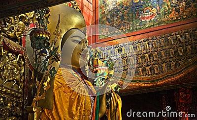 Zhong Ke Ba Yonghe Gong Buddhist Temple Beijing