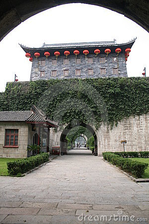 Zhonghua   gate  of  nanking