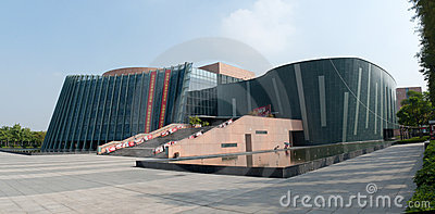 Zhongshan Culture and Art Center Editorial Stock Image
