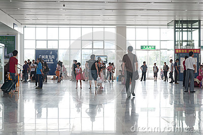 Zhongshan north railway station Editorial Photo