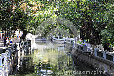 Zhongshan park Editorial Stock Photo