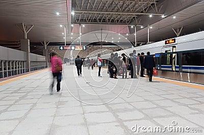 Zhongshan railway station Editorial Image