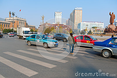 Zhongshan square Editorial Photo