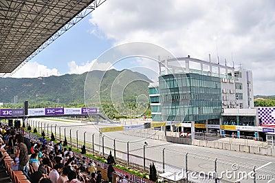Zhuhai International Circuit Editorial Stock Image