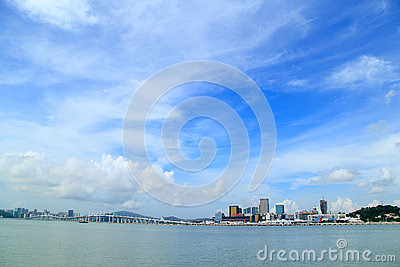 Zhuhai skyline Editorial Photography