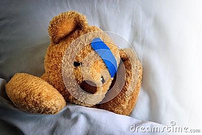 Zieke Teddy