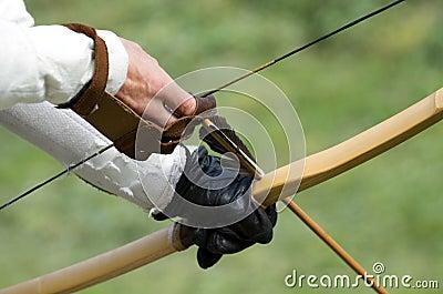 Zielen von Bogenschützen
