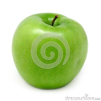 - zielone jabłka