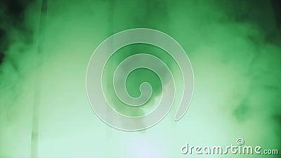 Zielony dym, żelazny grill armada zbiory wideo