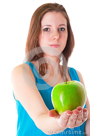 Zielony jabłko