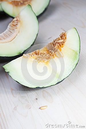 Zielony melon