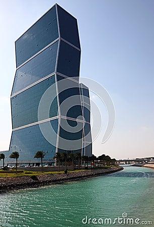 Free Zig Zag Towers In Doha, Qatar Stock Photos - 38479833
