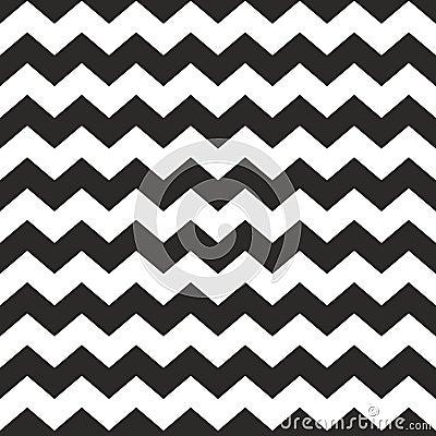 Free Zig Zag Vector Chevron Black And White Tile Pattern Stock Photo - 59042450