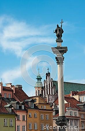 Zigmunt Column, Warsaw