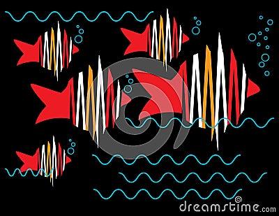 Zigzag Fish