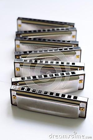 Zigzag Harmonica set