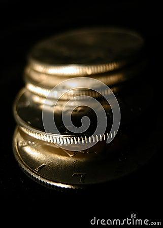 Zilveren muntstukken