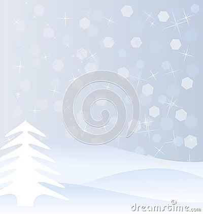 Zima tło