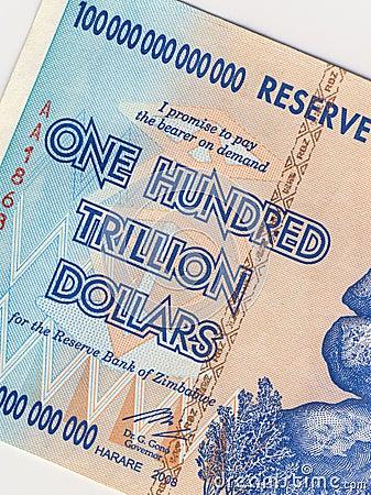 Zimbabwe - Banknote - Hyper Inflation