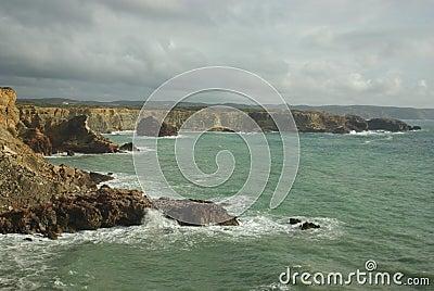 Zimbreirinha shoreline